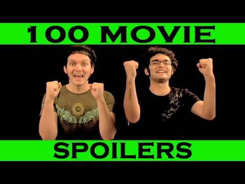 Spoiler Alert! - 100 Movie Spoilers In 5 Minutes - (movie Endings Ruined) video
