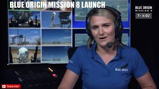 Blue Origin Mission Space Launch - LIVE