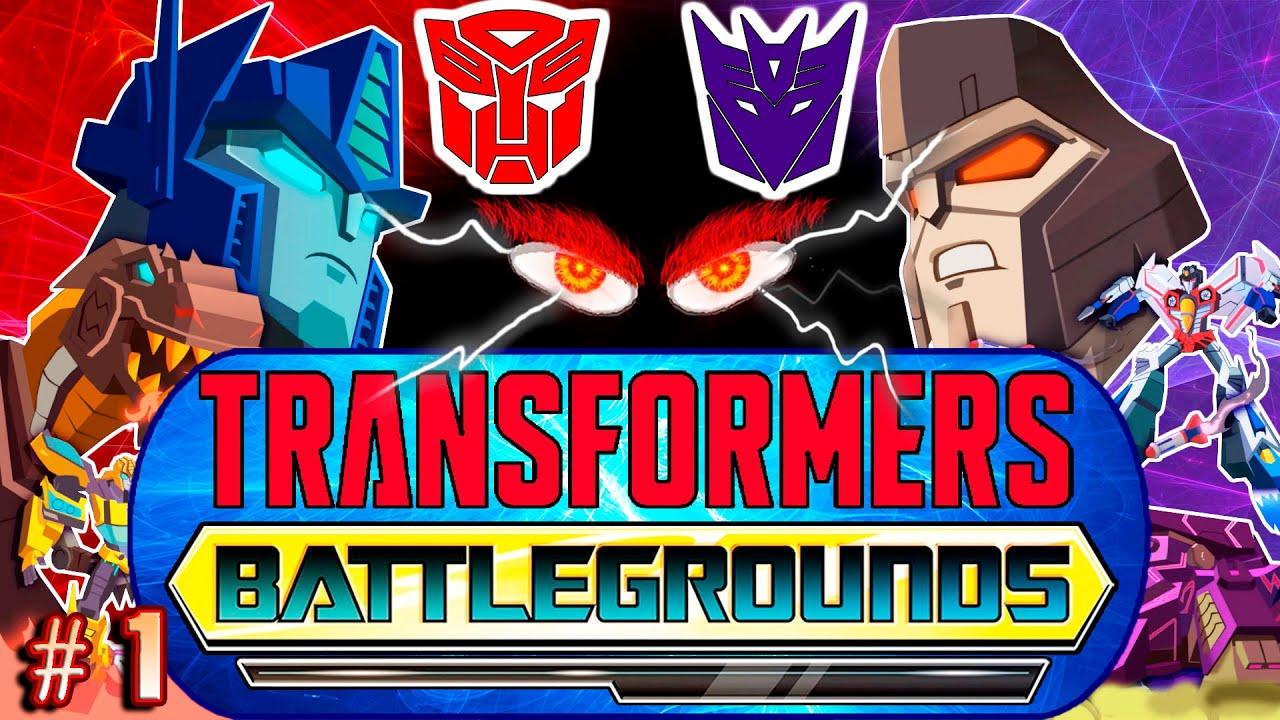 НОВАЯ ИГРА! НОВАЯ ИСТОРИЯ! Трансформеры Поля Битвы Transformers Battlegrounds прохождение #1