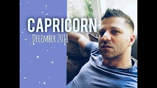 CAPRICORN December 2018 - WOW! BIG SUCCESS - New Vision & LOVE - Capricorn Horoscope Tarot