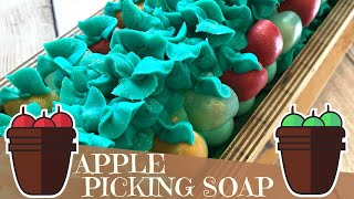 Making of Apple Orchard Cold Process Soap | 🍏 GYPSYFAE CREATIONS