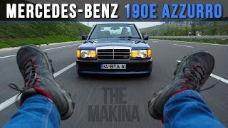 THE MAKİNA | MERCEDES-BENZ 190E AZZURRO (W201)