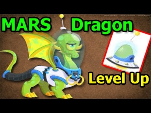 MARS DRAGON Dragon City Egg and Level Up Review