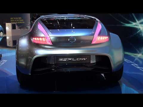 Nissan Esflow at Geneva Motor Show 2011 - Which first look