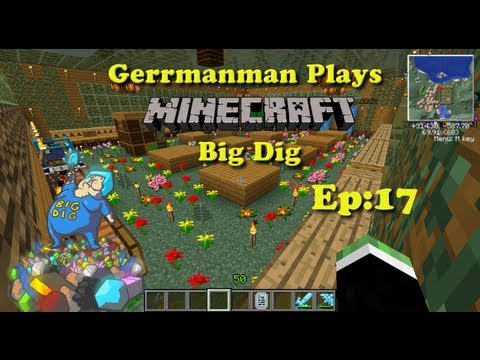 Minecraft Big Dig Ep:17 Bees and Reactor