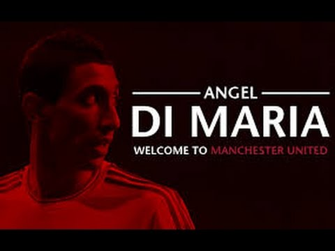 Angel Di Maria| Skills,Goals,Assists| WELCOME TO MANCHESTER UNITED 2014 HD