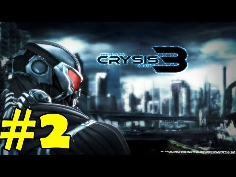 Crysis 3 Walkthrough Part 2 Gameplay Review Lets Play [HD] PC/PS3/XBOX360 NukemDukem