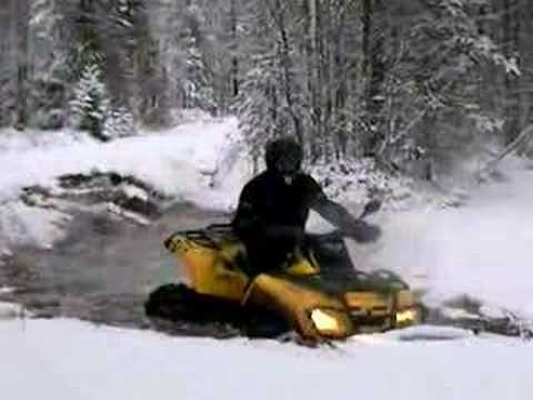 Canam Ice breaker Video