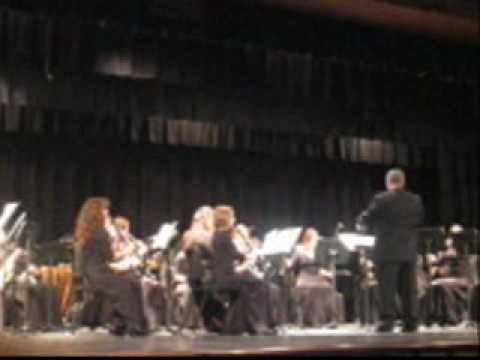 River Valley High School Winter Holiday Concert. Three Oaks, Michigan wmv
