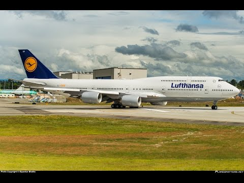 1500th Boeing 747-8I Lufthansa Airline's delivery-