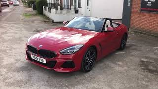 2019 Bmw Z4 20i  first look (19) plate uk car)