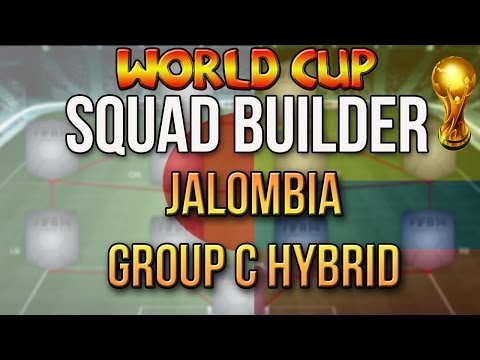 FIFA WORLD CUP SQUAD BUILDER | COLOMBIA JAPAN HYBRID | FIFA 14 ULTIMATE TEAM