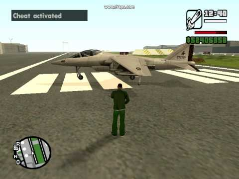 How To Control Hydra The Jet Grand Theft Auto San Andreas
