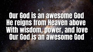 Awesome God | Hillsong