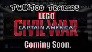 LEGO Captain America Cival War Trailer | TwinToo Bricks