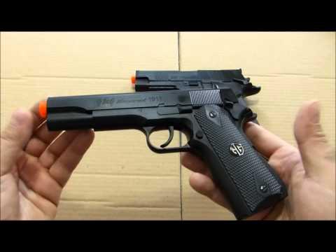 REVIEW- Pistolas de airsoft G&G Colt 1911 e Sig Sauer P226