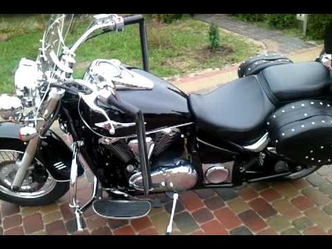 Kawasaki VN900 Classic- Exhaust Fat Pipes Highway Howk