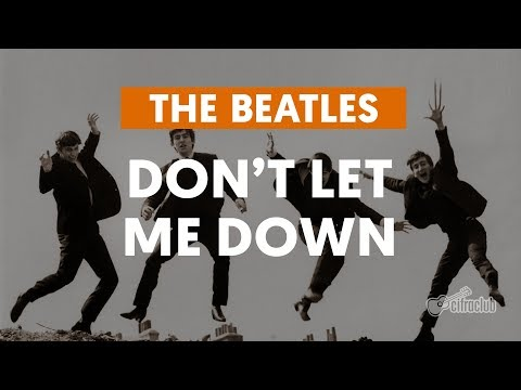 Don't Let Me Down - The Beatles (aula de violão)
