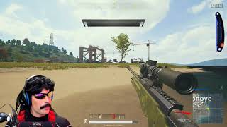 DRDISRESPECT FIRST GAME BACK OF PLAYERUNKNOWN'S BATTLEGROUNDS