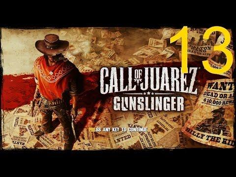 """Call of Juarez Gunslinger прохождение часть 13 """"Без пощады"""". Дуэль со снайпером Фрэнком Джеймс!"""