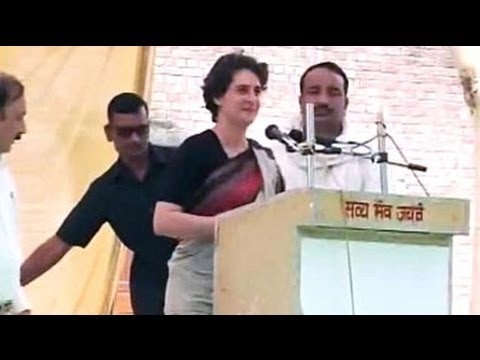 Priyanka Gandhi breaks her silence on Robert Vadra
