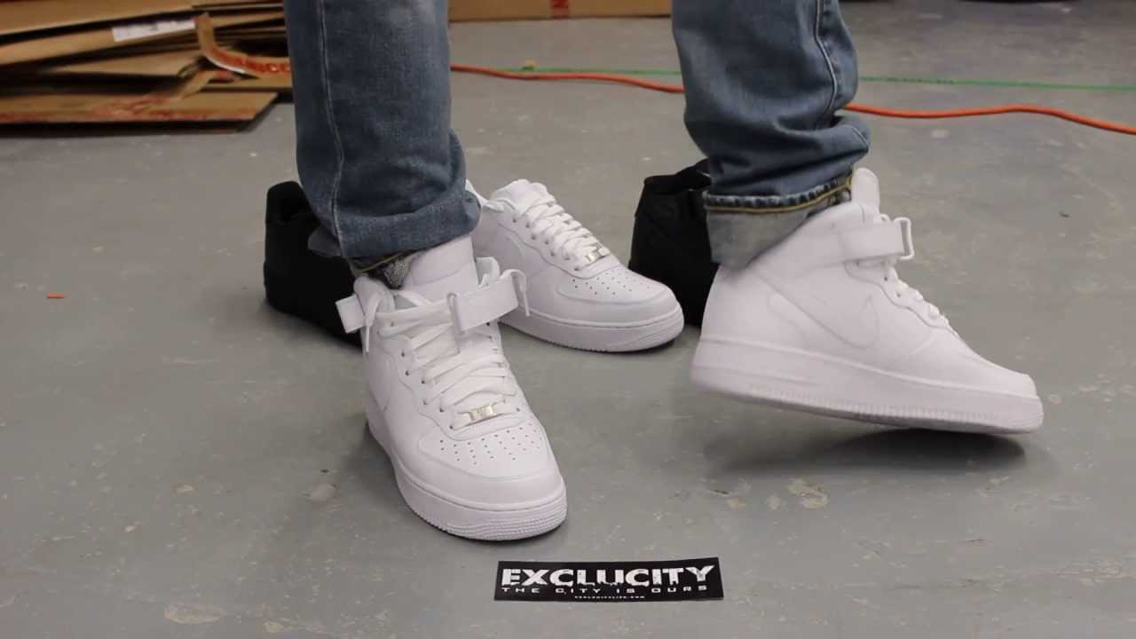 Air Force 1 High Tops White