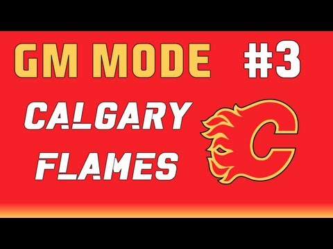 NHL 13: GM Mode Commentary - Calgary ep. 3