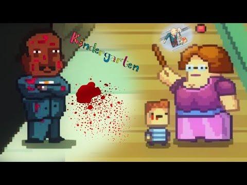 KILLING ALL THE STUDENTS FOR THE TEACHER THO!?   Kindergarten (Part 3)