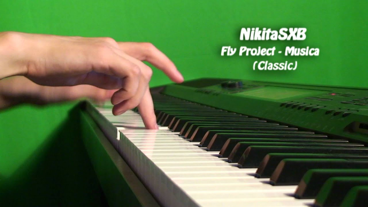 Cover Album Fly Project Musica Fly Project Musica Piano