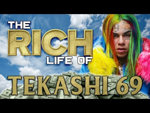 TEKASHI 69 | The RICH Life | Chains, Grillz, Tattoos & more...
