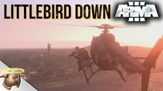 LITTLEBIRD DOWN - Cinematic ARMA 3 mission