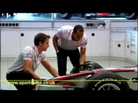 Jenson Button & Lewis Hamilton - Sportsvibe TV