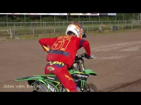 Videopreview spannende finale ONK Motorcross in Mill