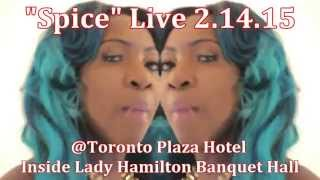 Spice Live from Jamaica the #1 Dancehall Female Artist  2.14.2015