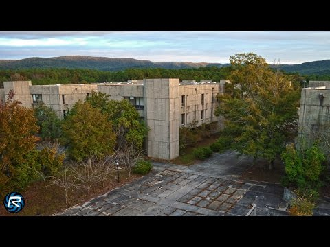 Fort McClellan, Anniston, Alabama Ghost Town (PART 1) DJI Phantom 2