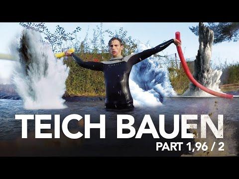 Teich Bauen - Heimwerkerking Fynn Kliemann