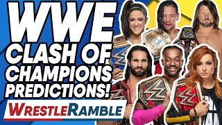 WWE Clash Of Champions 2019 Predictions! | WrestleTalk's WrestleRamble