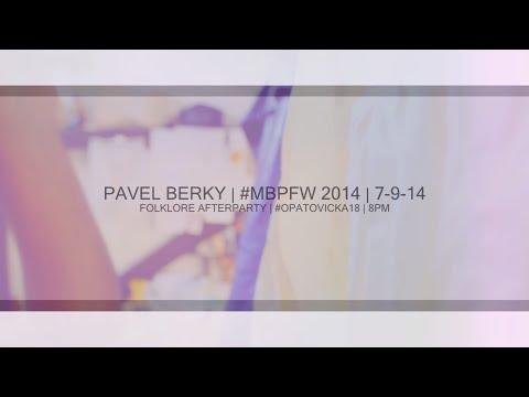 PAVEL BERKY | MERCEDES-BENZ PRAGUE FASHION WEEKEND 2014 | TEASER II
