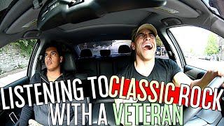 Listening To Classic Rock With A Veteran!