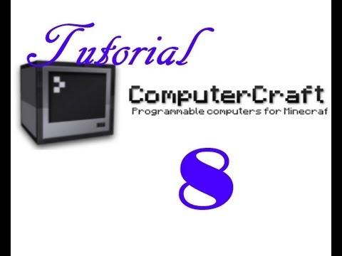 Minecraft / Computercraft Tutorial #8 - Turtles. Brücken und Wände bauen - Einführung