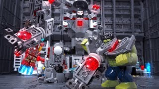 Lego Avengers Endgame Iron Man Build War Machine Buster Animation for Kids