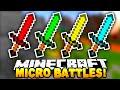 Minecraft - MICRO BATTLES! #5 - w/ Preston & Kenny
