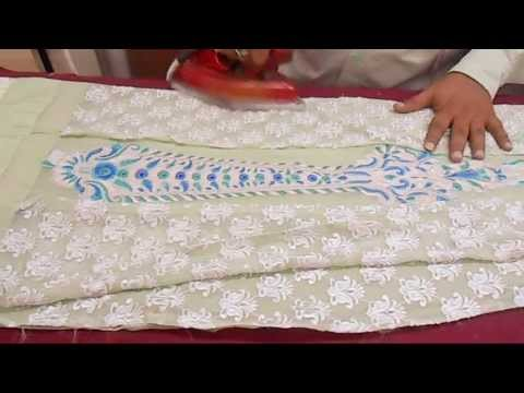 How To Cut Lining Blouse-Simple Lining Blouse Cutting-Choli Cut Blouse