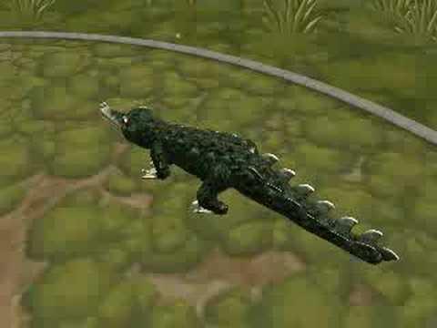Spore New Crocodile