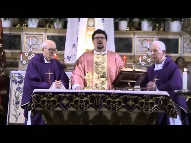 Filmato Sabato del Popolo 2015 Santa Messa