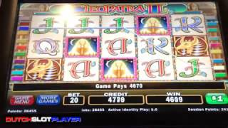 Cleopatra II HIGH LIMIT bonuses and 2 handpays