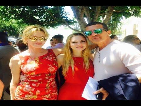 Melanie Griffith y Antonio Banderas, juntos por Stella