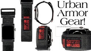 Best Apple Watch Band From Urban Armor Gear!