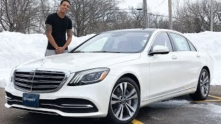 THE BRAND NEW 2019 MERCEDES S560 REVIEW! BIG LUXURIOUS..