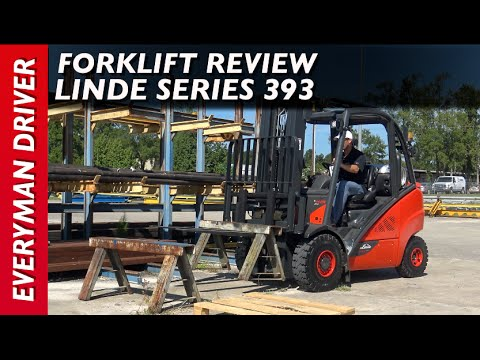Forklift Review: Linde Series 393 Truck on Everyman Driver